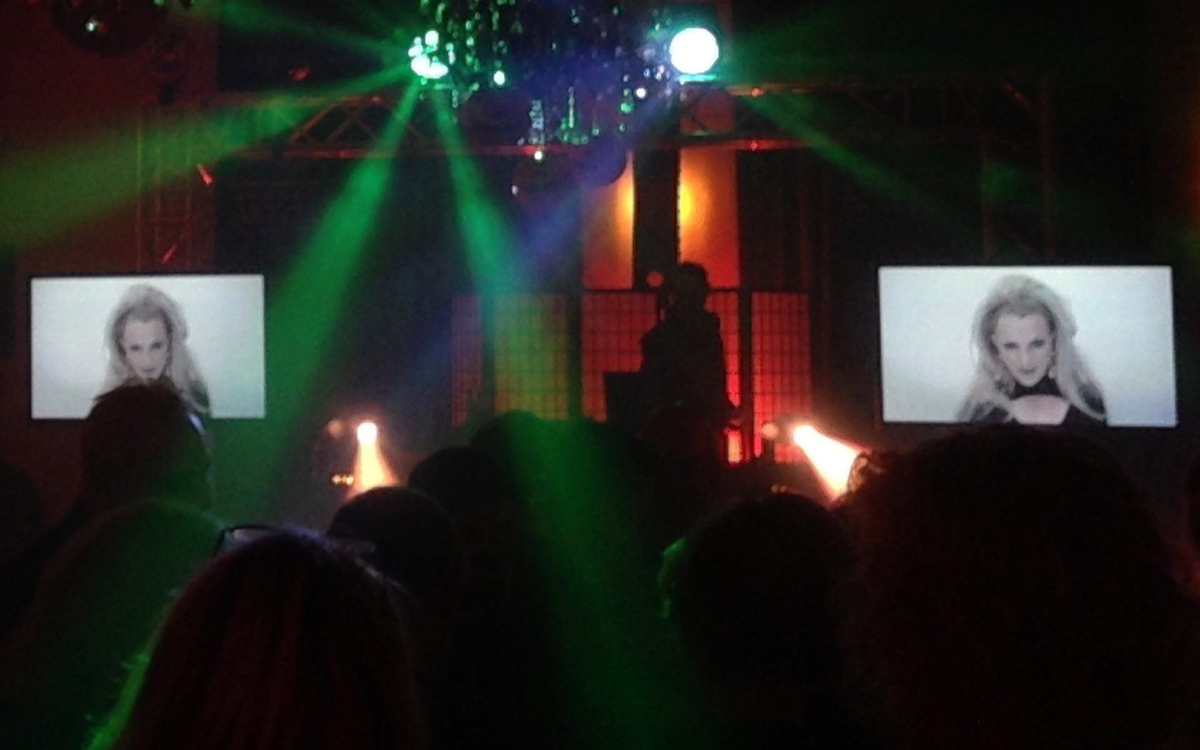 DJ Franklin mit Videoshow in Hattingen